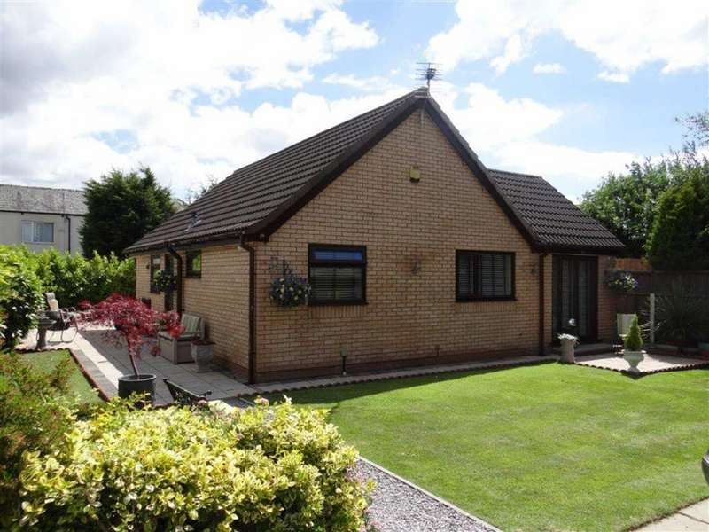 2 Bedrooms Detached Bungalow for sale in Hallworthy Close, Leigh, Lancashire