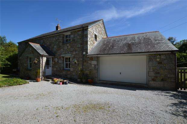4 Bedrooms Detached House for sale in Germoe, Penzance, Cornwall
