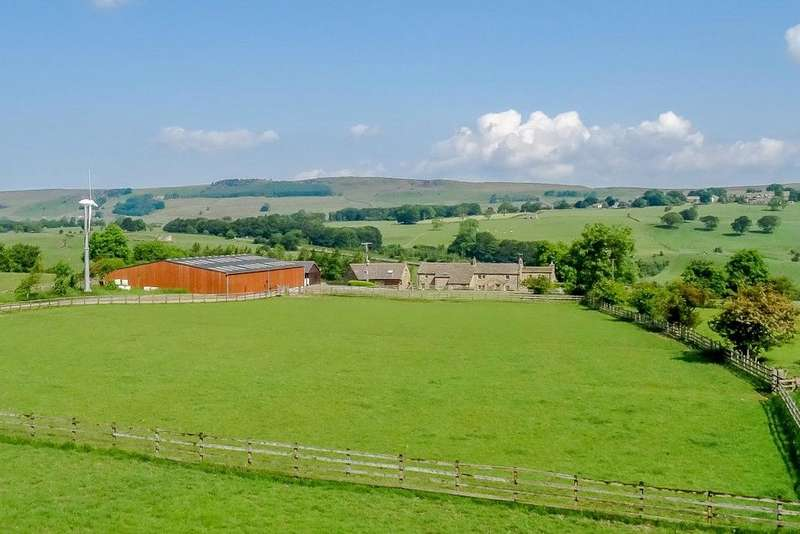 5 Bedrooms Equestrian Facility Character Property for sale in Field House Farm, Draughton, Near Skipton, North Yorkshire, BD23