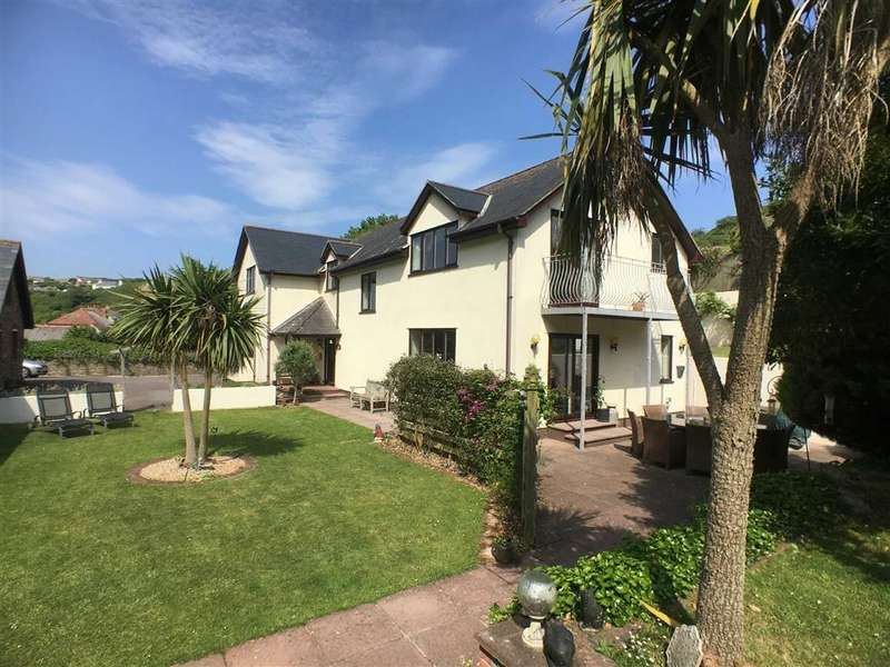 4 Bedrooms Detached House for sale in The Square, Hope Cove, Kingsbridge, Devon, TQ7