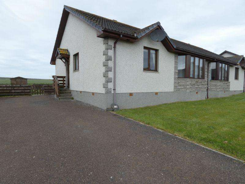 3 Bedrooms Semi Detached Bungalow for sale in Wolfburn Road, Thurso