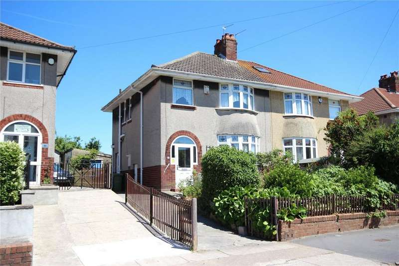 3 Bedrooms Semi Detached House for sale in Monks Park Avenue, Horfield, Bristol, BS7