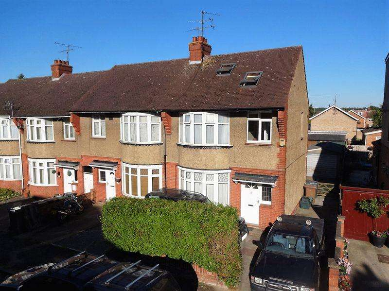 3 Bedrooms End Of Terrace House for sale in Kingsley Road, Luton