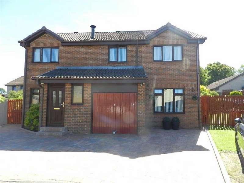 5 Bedrooms Detached House for sale in Braeside Park, Mid Calder