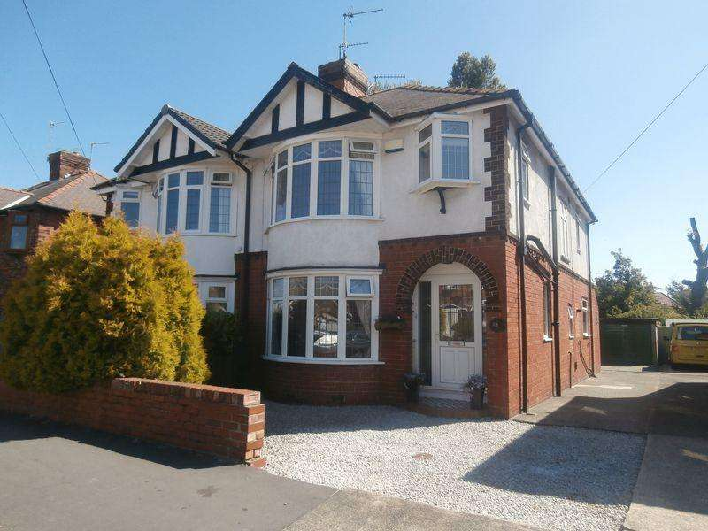 3 Bedrooms Semi Detached House for sale in Norland Avenue, Anlaby High Road, Hull