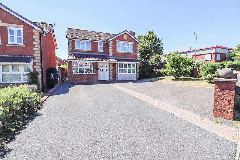 4 Bedrooms Detached House for sale in Addenbrook Way, Tipton