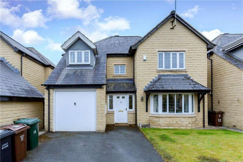 4 Bedrooms Detached House for sale in Glenholme Park, Clayton, Bradford, West Yorkshire