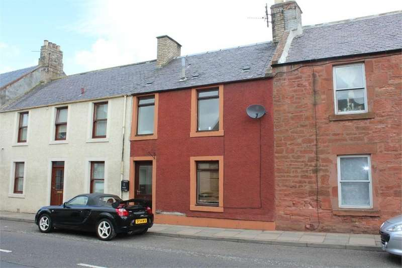 2 Bedrooms Terraced House for sale in West High Street, Greenlaw, DUNS, Scottish Borders