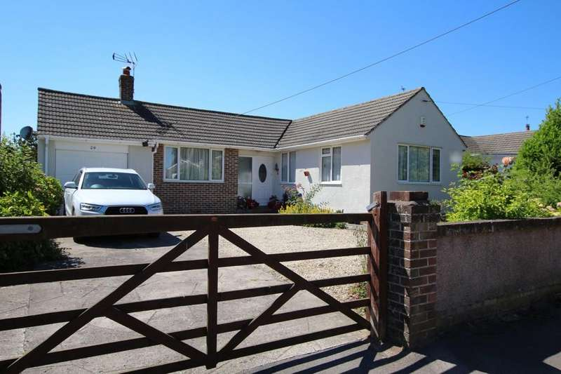 2 Bedrooms Detached Bungalow for sale in Quiet village location