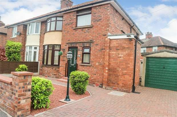 3 Bedrooms Semi Detached House for sale in Brunton Crescent, Carlisle, Cumbria