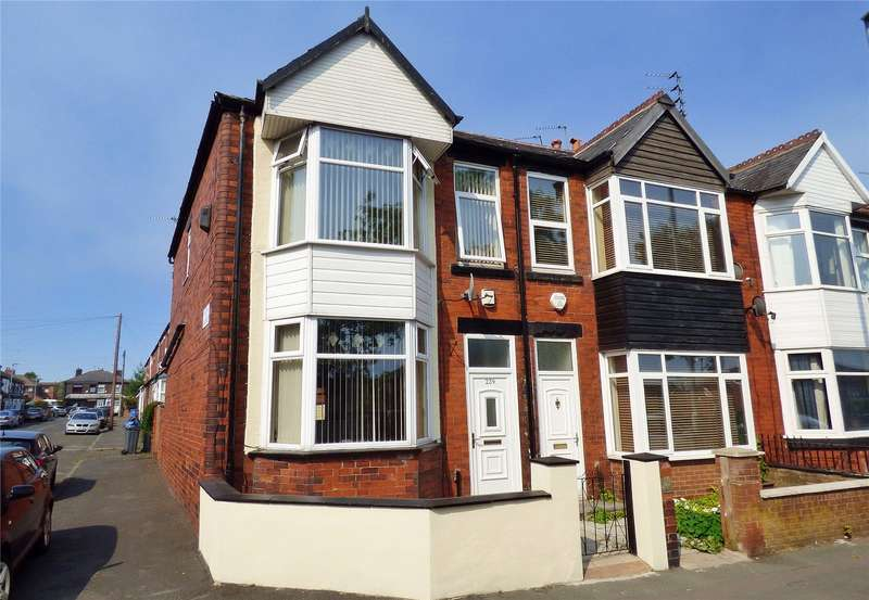 3 Bedrooms End Of Terrace House for sale in Nuthurst Road, New Moston, Manchester, M40