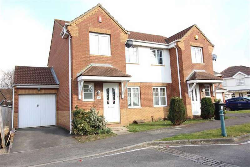 3 Bedrooms Semi Detached House for sale in Guest Avenue, Emersons Green, Bristol