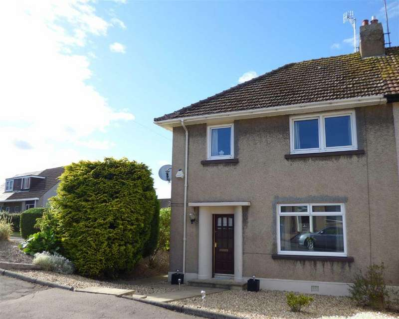 3 Bedrooms Semi Detached House for sale in Braehead, Cupar, Fife