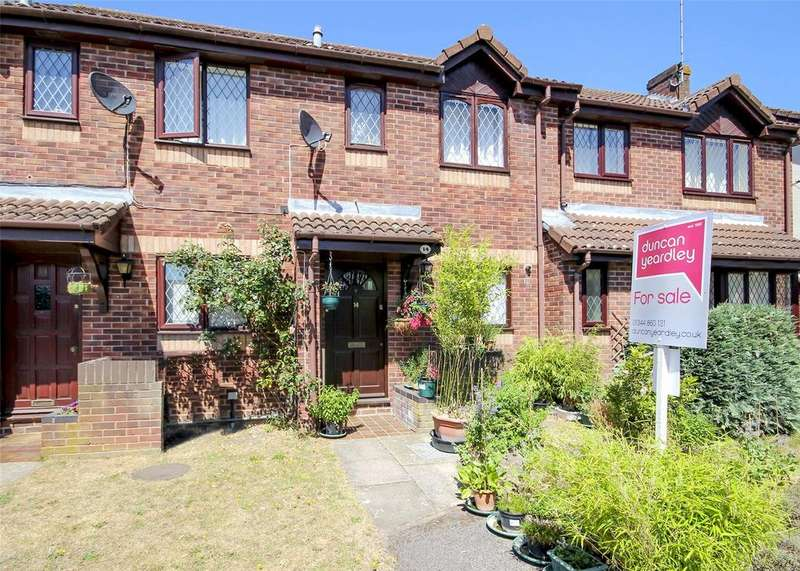 2 Bedrooms Terraced House for sale in Fawler Mead, The Warren, Bracknell, Berkshire, RG12