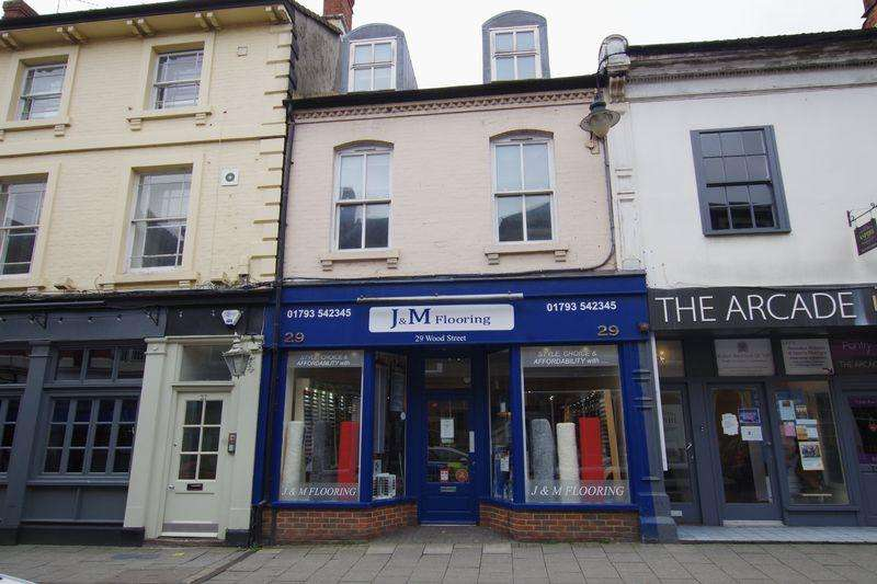 1 Bedroom Block Of Apartments Flat for sale in Wood Street, Old Town, Swindon