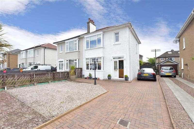 3 Bedrooms Semi Detached House for sale in Douglas Road, Renfrew