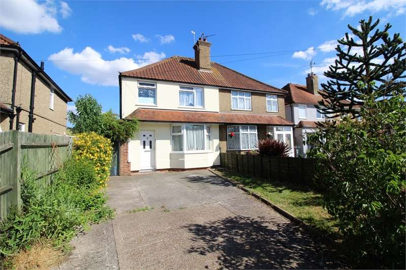 3 Bedrooms Semi Detached House for sale in Church End Lane, Tilehurst, READING, Berkshire