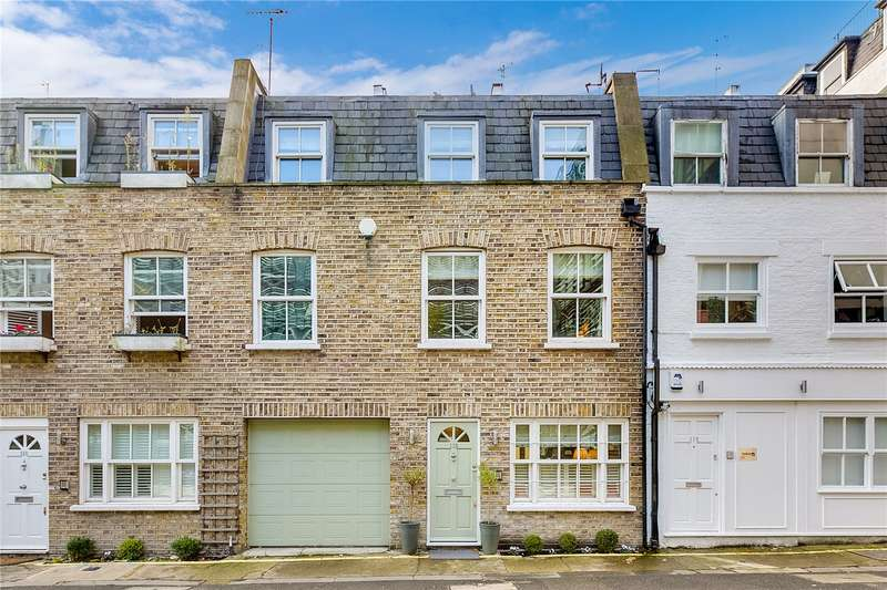 3 Bedrooms Mews House for sale in Eastbourne Mews, London, W2