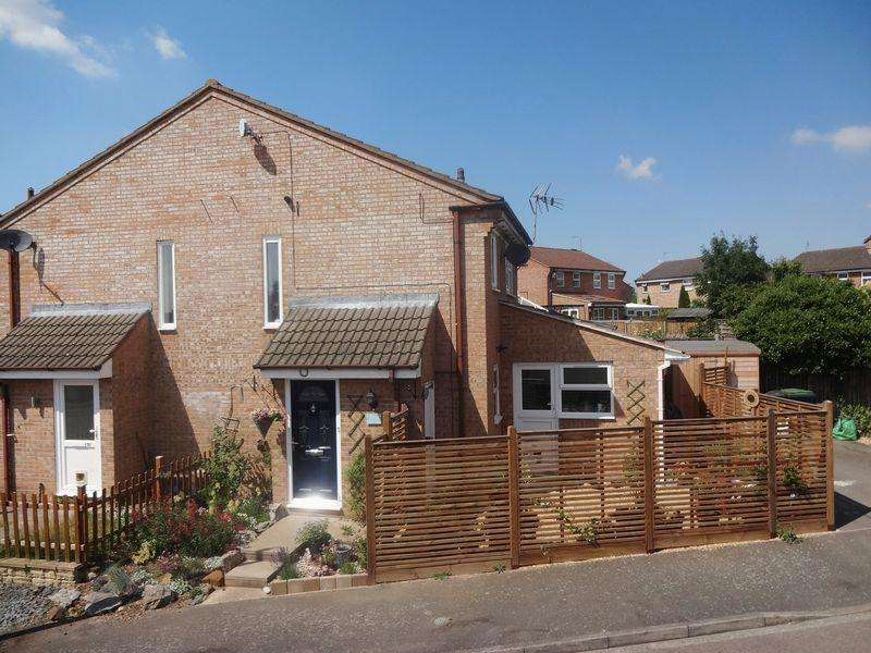2 Bedrooms End Of Terrace House for sale in Ailesbury Road, Ampthill