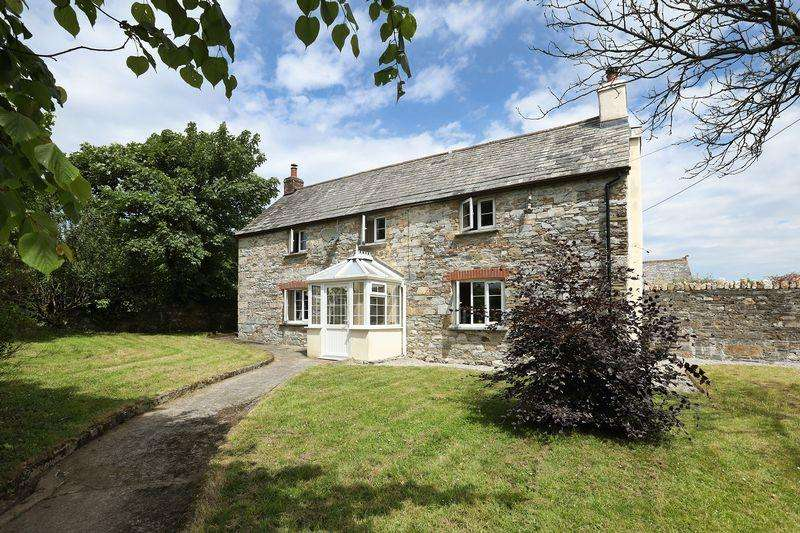 4 Bedrooms Farm House Character Property for sale in St Teath, Bodmin