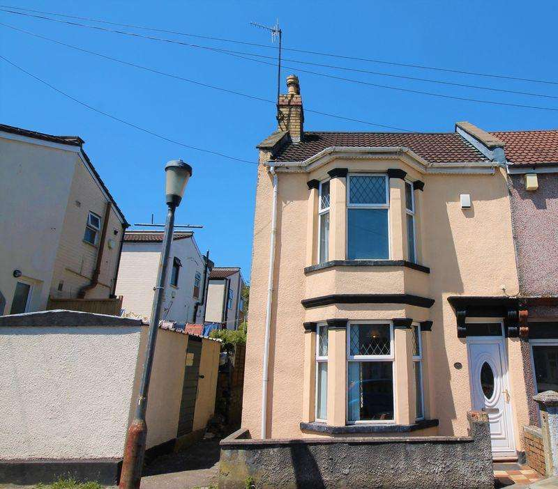 3 Bedrooms End Of Terrace House for sale in Mansfield Street, Bedminster, Bristol, BS3