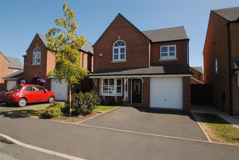 4 Bedrooms Detached House for sale in Powder Mill Road, EDGEWATER PARK, Warrington, WA4