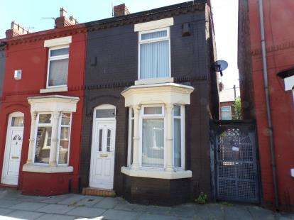 2 Bedrooms End Of Terrace House for sale in Harrow Road, Liverpool, Merseyside, L4