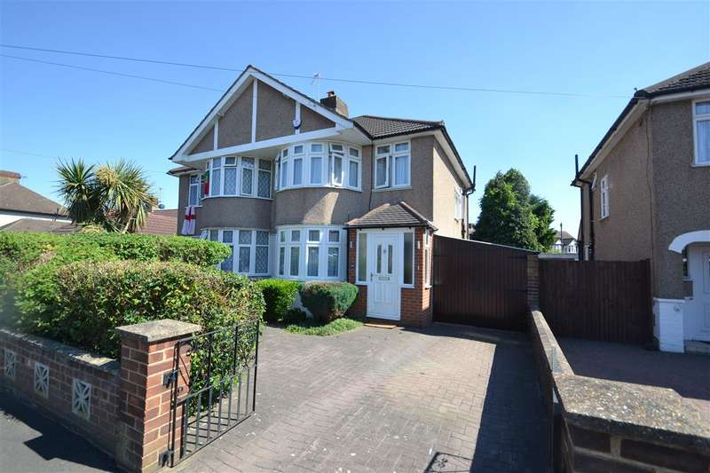 3 Bedrooms Semi Detached House for sale in Hereford Road, Feltham
