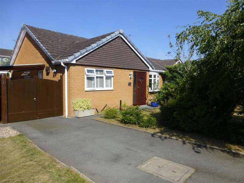 3 Bedrooms Detached Bungalow for sale in Ridley Wood Close, Wrexham
