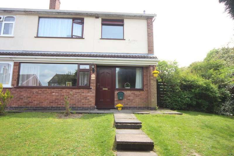 3 Bedrooms Semi Detached House for sale in Rush Close, Newbold Verdon, Leicester