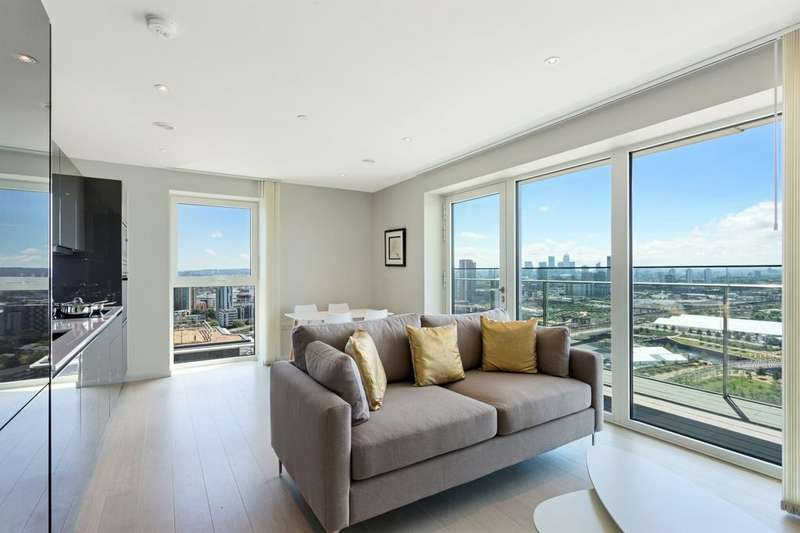 2 Bedrooms Apartment Flat for sale in Glasshouse Gardens, Cassia Point, Stratford E20