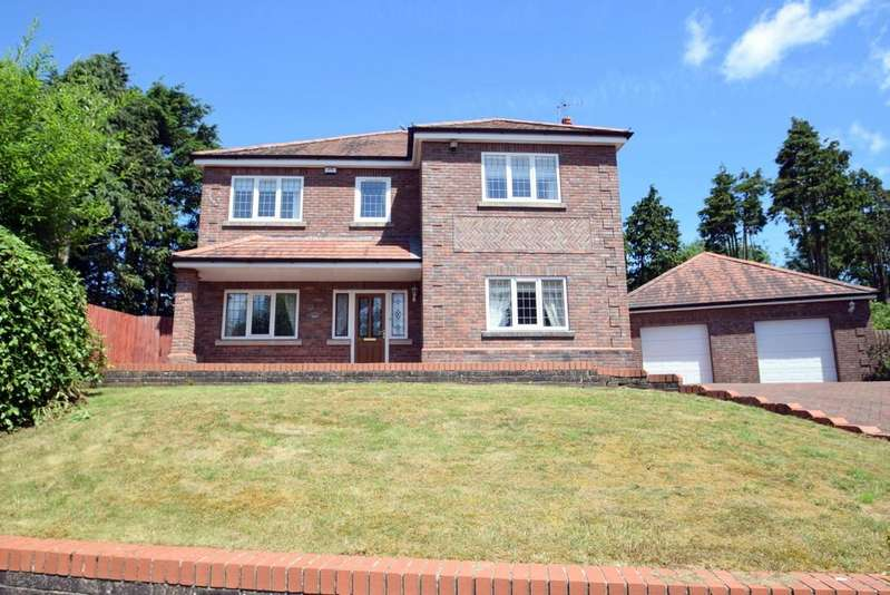 4 Bedrooms Detached House for sale in Woodland House, Leckwith Rise, Bridgend, Bridgend County Borough CF31 4HB