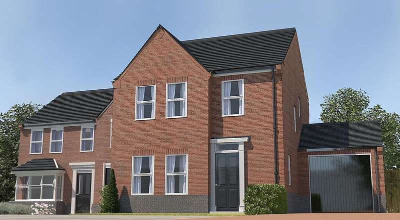 4 Bedrooms Detached House for sale in Saltergate, Chesterfield