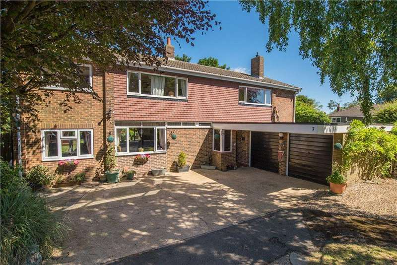 5 Bedrooms Detached House for sale in Churchill Close, Streatley, Bedfordshire