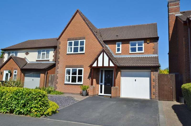 4 Bedrooms Detached House for sale in Chestnut Drive, Holmes Chapel