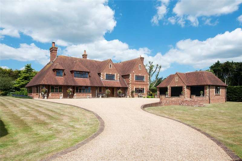 5 Bedrooms Detached House for sale in Friston Downs, Friston, East Sussex