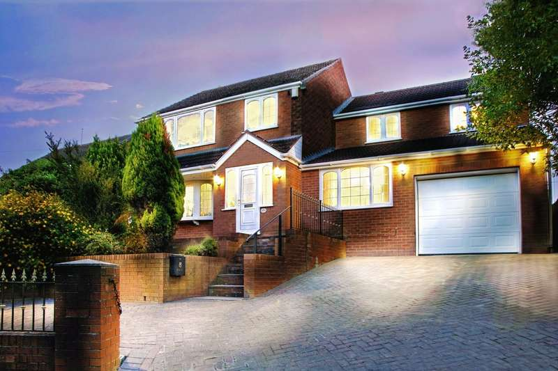 4 Bedrooms Detached House for sale in Robin Hood Road, Quarry Bank, Brierley Hill