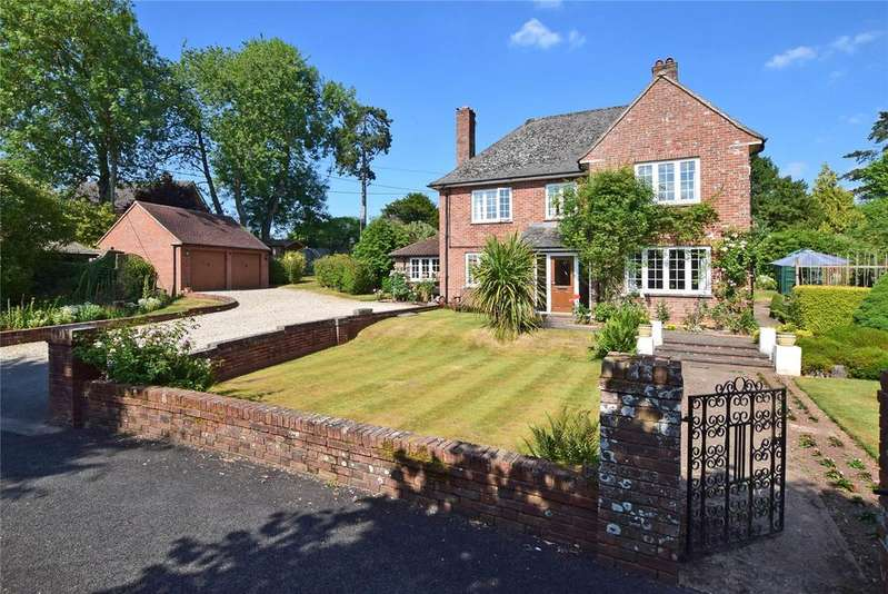 4 Bedrooms Detached House for sale in Hindstrete, Church Road, Whimple, Exeter