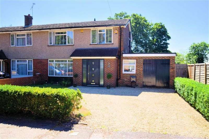 3 Bedrooms Semi Detached House for sale in Dovedale Close, Caversham, Reading