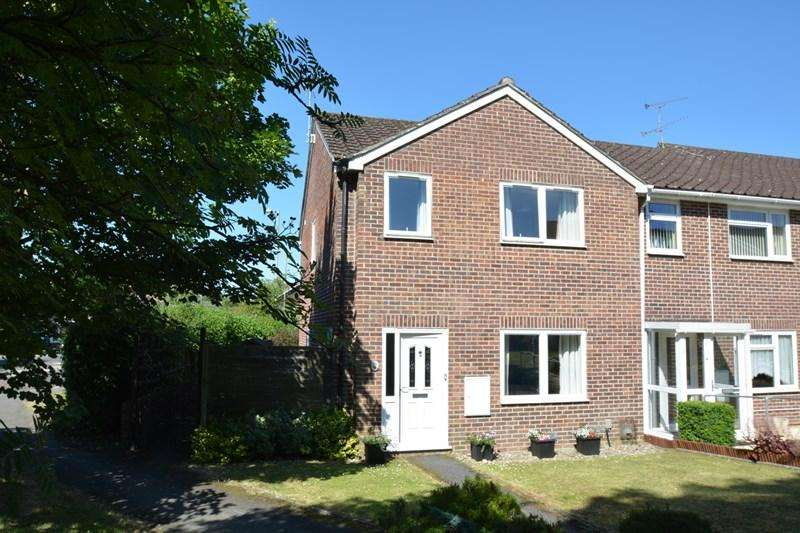 3 Bedrooms End Of Terrace House for sale in Wetherby Gardens, Charlton, Andover