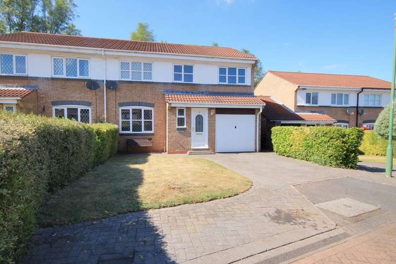 4 Bedrooms Semi Detached House for sale in Lesbury Close, Chester Le Street, DH2
