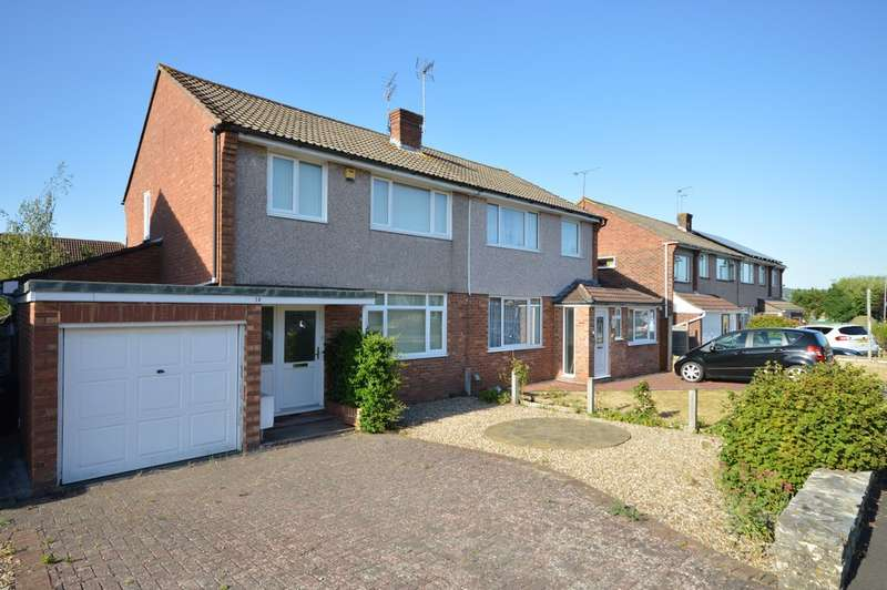 3 Bedrooms Semi Detached House for sale in Windrush Road, Keynsham, BS31