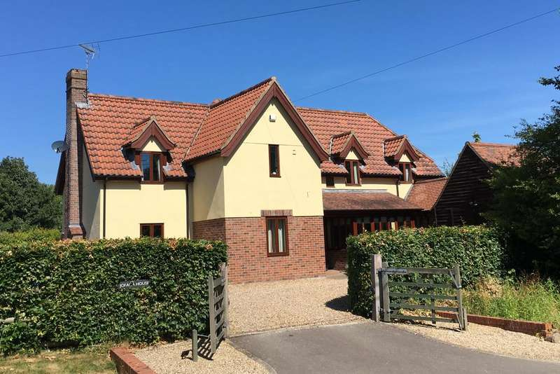 4 Bedrooms Detached House for sale in The Pound, Hawstead, Bury St Edmunds, IP29 5NJ