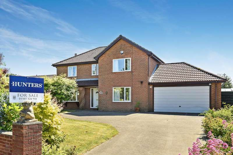 4 Bedrooms Detached House for sale in South Road, Tetford, Horncastle, LN9 6QB