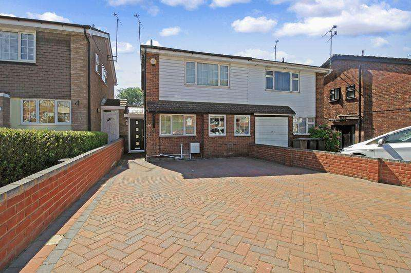 4 Bedrooms Semi Detached House for sale in Bramingham Road, Luton