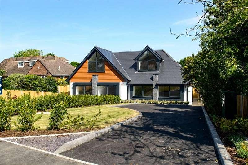 4 Bedrooms Semi Detached Bungalow for sale in Montagu Road, Highcliffe, Christchurch, Dorset, BH23
