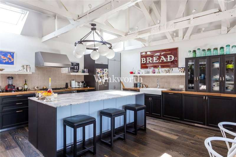 2 Bedrooms Penthouse Flat for sale in The Organ Factory, Colina House, Colina Mews, N15