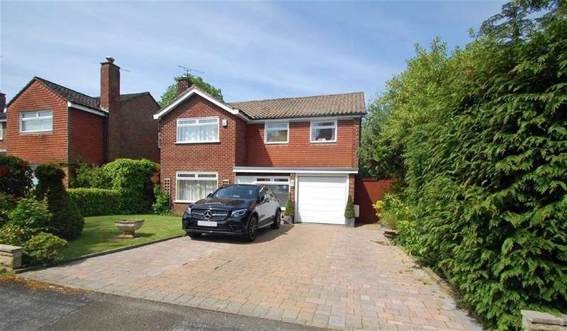 4 Bedrooms Detached House for sale in Grange Park Avenue, Wilmslow, Cheshire