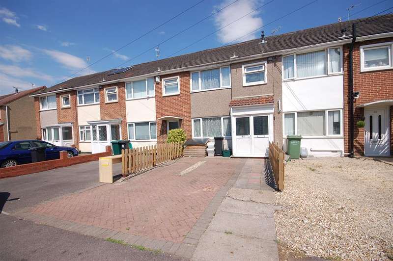 3 Bedrooms Terraced House for sale in Kingsholme Road, Kingswood, Bristol BS15 1RL