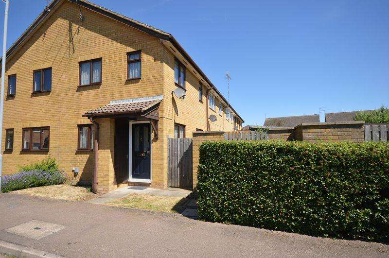 1 Bedroom End Of Terrace House for sale in Marsom Grove, Luton